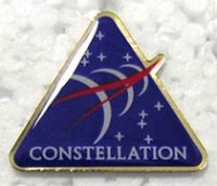 NASA Constellation Space Pin